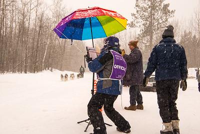 Sled Dog Race HAM Operator