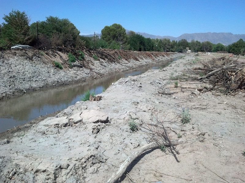 June 15, 2013 - The clearing of Montoya Drain.