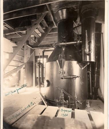 Acetylene Products Co. Acetylene Generator