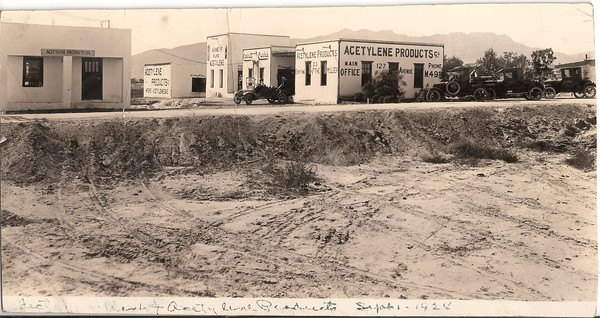 Factory and Plant Acetylene Products Co.  Sept 1, 1924