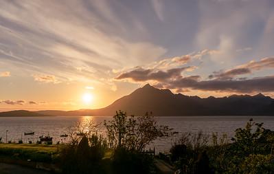 Sunset in Elgol, Isle of Skye, Highlands, Scotland