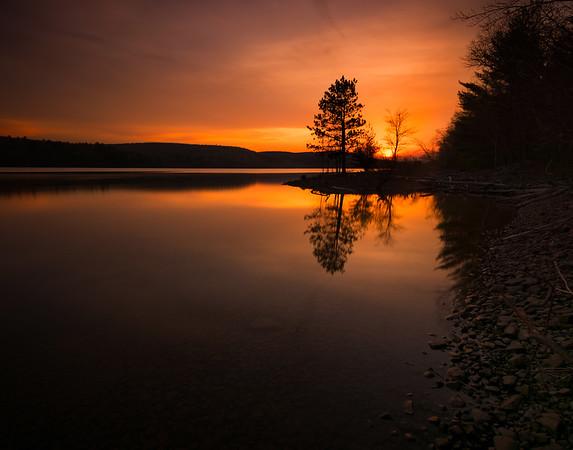 Rondout Reservoir | Sunset
