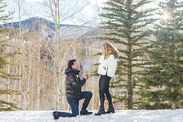 Beaver Creek Engagement - Jordi and Lauren