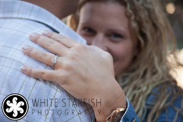 This shot was taken below the covered bridge in Vail Village for an engagement photo session in Vail, Colorado.
