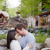 This shot was taken on Beaver Creek in the Beaver Creek Village, Colorado.