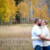 Eric and Amy's Engagement Photos.  This was taken in a field in Matterhorn, Vail while the Aspen's were changing.