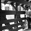 Eric and Amy's Engagement Photos.  Taken on Vail's infamous covered Bridge in Vail Village.