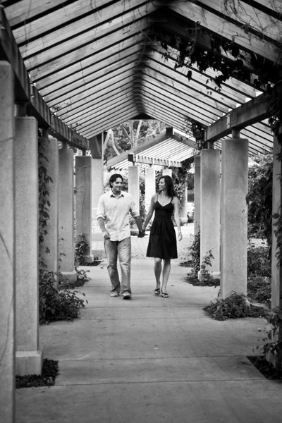Jenna & Steve Engagement Session - Downtown Minneapolis and Minnehaha Falls