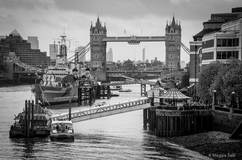 Tower Bridge from London Bridge