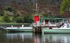 Pier and steamer boat at Glen Ridding on Ullswater