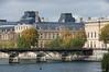 Pont des Arts (love lock bridge)