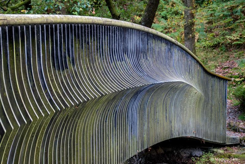 Interesting railing pattern