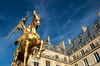Statue of Jeanne d'Arc on Rue Rivoli