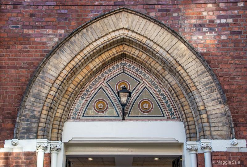 A decorative arch