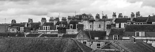 Rooftops in Bath