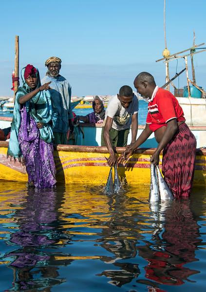 Bosaso Shipping port Puntland Somalia
