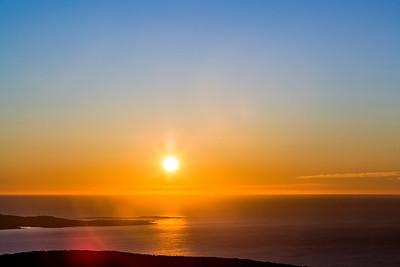 Sun Clears the Horizon