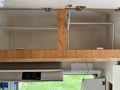 Repaired kitchen cabinet door