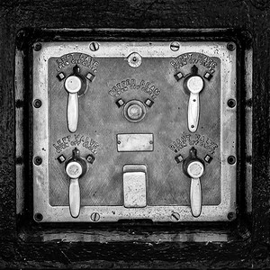 Erie Canal Lock 8 Controls (mono)