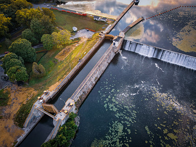 Lock 7 from Above