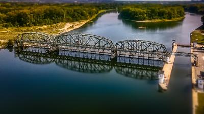Erie Canal Lock 8 Dam