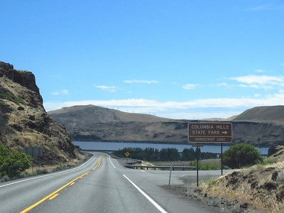 OTW to Wheeler Co  RV Park, Fossil, OR (5)