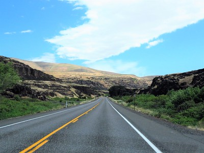 OTW to Wheeler Co  RV Park, Fossil, OR (9)