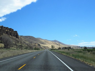 OTW to Wheeler Co  RV Park, Fossil, OR (10)