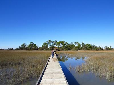 Hunting Island State Park, SC (6) Marsh Walk