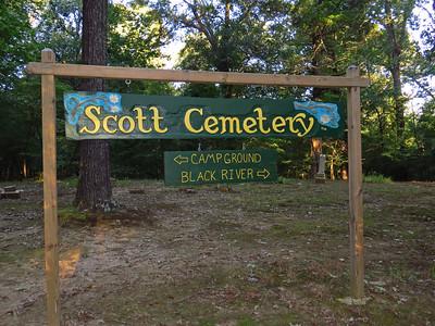 Old Davidsonville SP, AR (Scott Cemetery) (2)