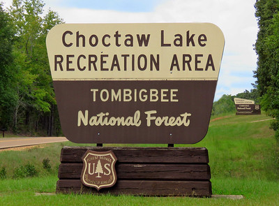 Choctaw Lake Rec  Area, Brookville, MS (2)