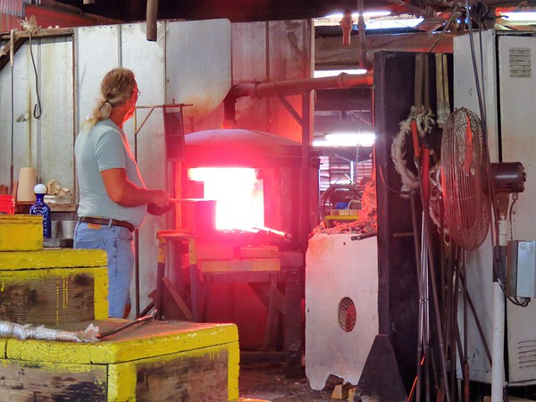 Blenko Glass Factory, Milton, WV (2)