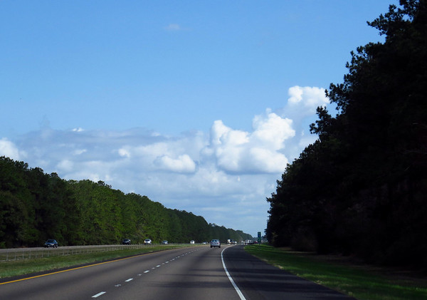 Traveling through Louisiana on I-12 (3)