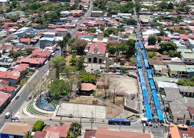 Aerial View of Escazu, Costa Rica