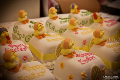 Happy Easter Cake, Covered Market, Oxford