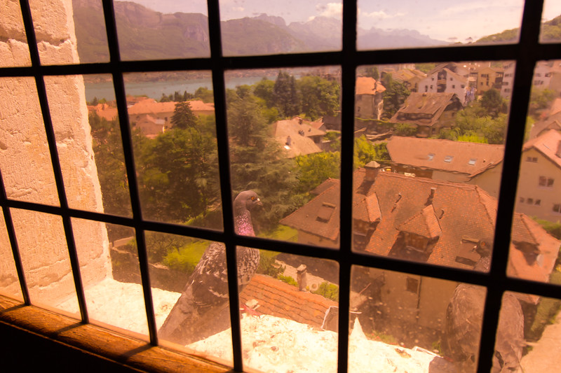 View from a castle, in Annecy, France