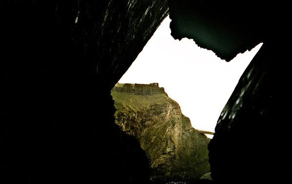 Inside Merlins Cave