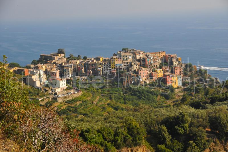 Corniglia from the Cinque Terre trail