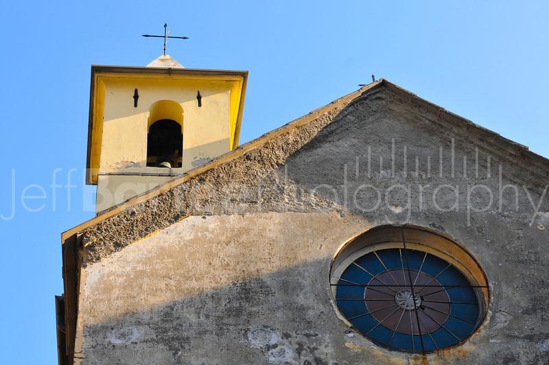 Mountain Church in Riomaggio