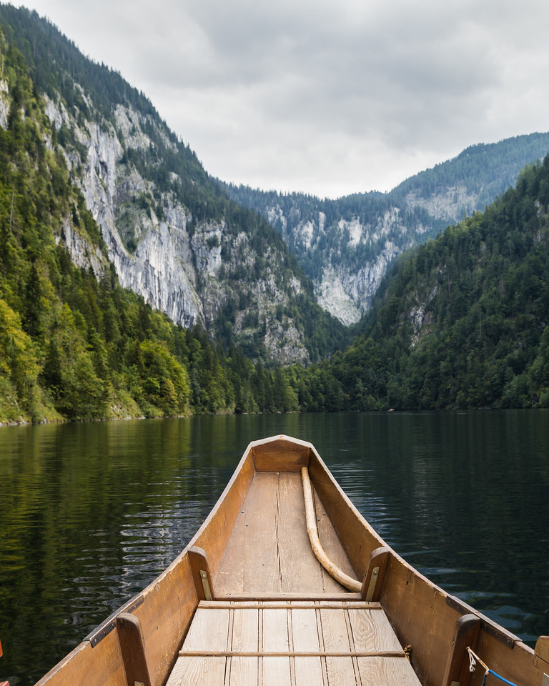 Boat on a Lake in Austria