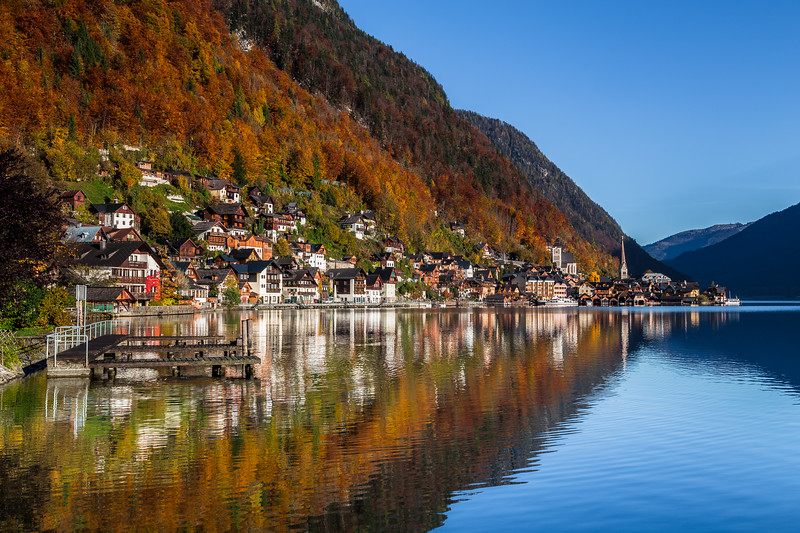 Hallstatt in the Autumn
