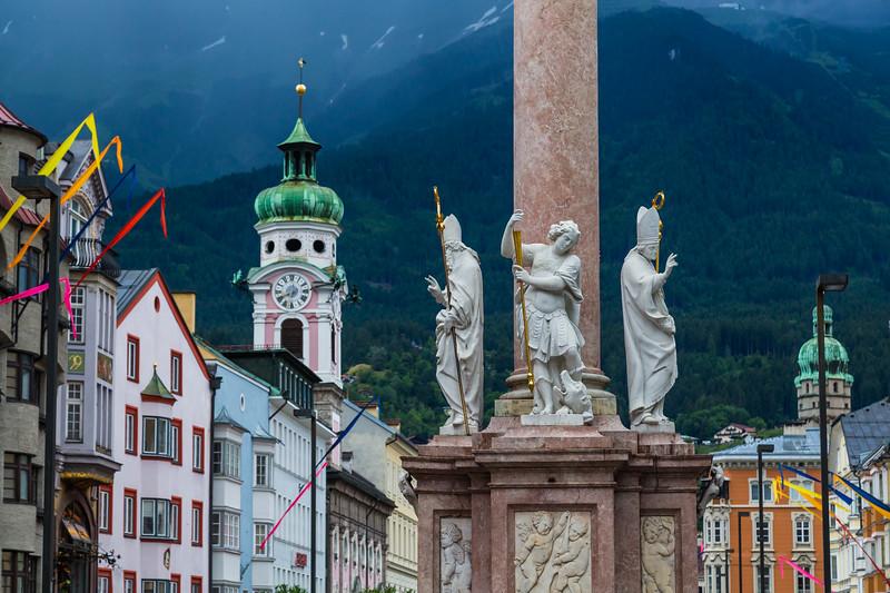 Maria-Theresien-Strasse in Innsbruck