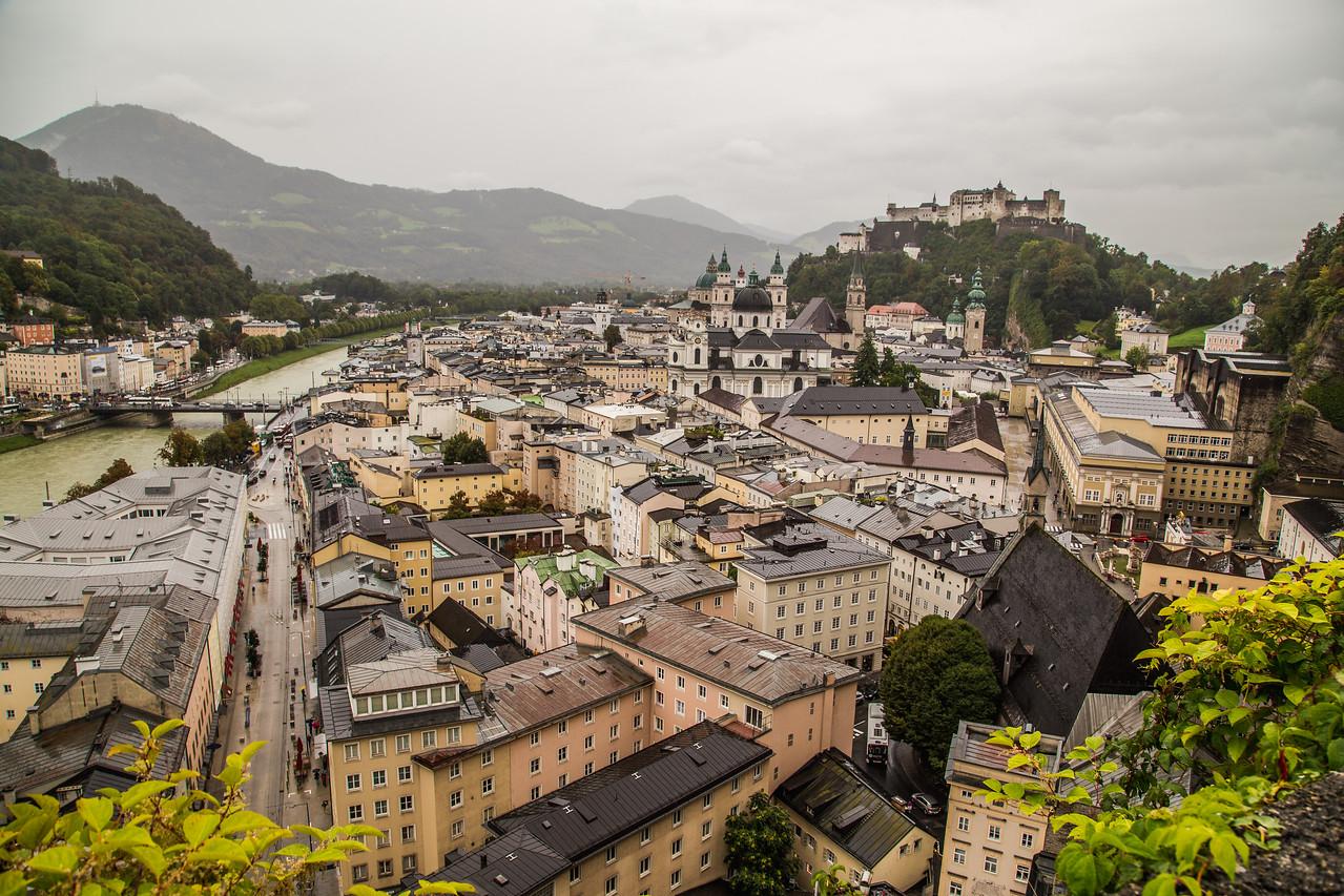 Buildings in Salzburg Austria