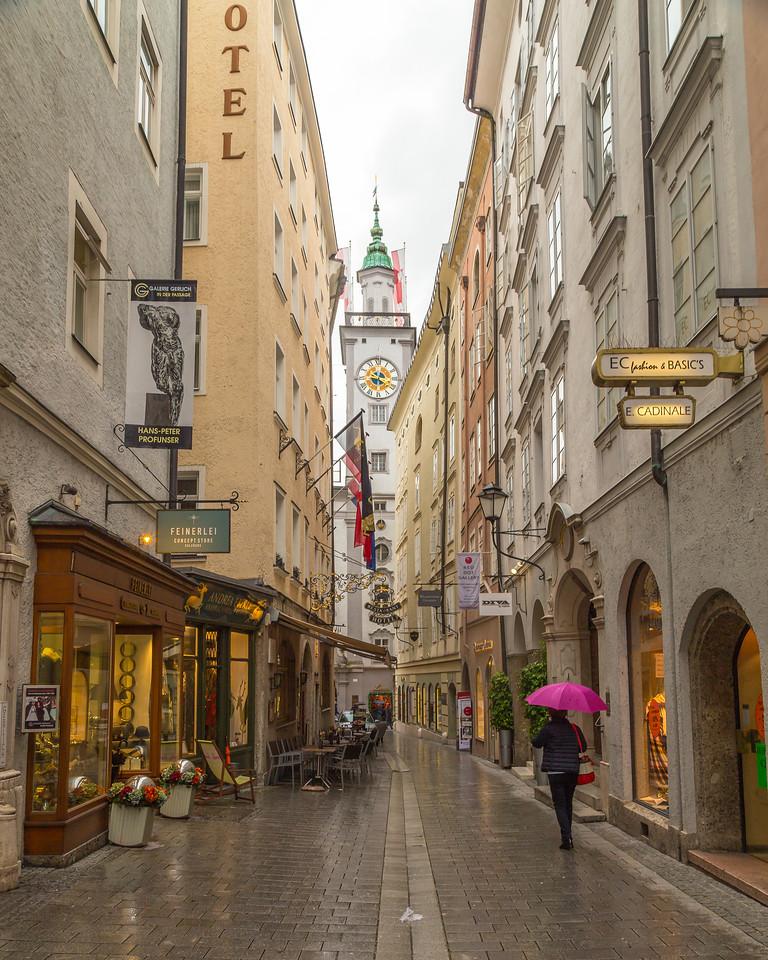 Streets in Salzburg Austria