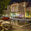 Museumsquartier in Vienna at Night