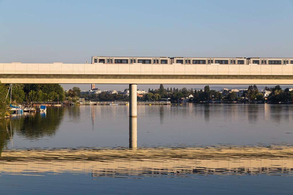 Subway Train in Vienna