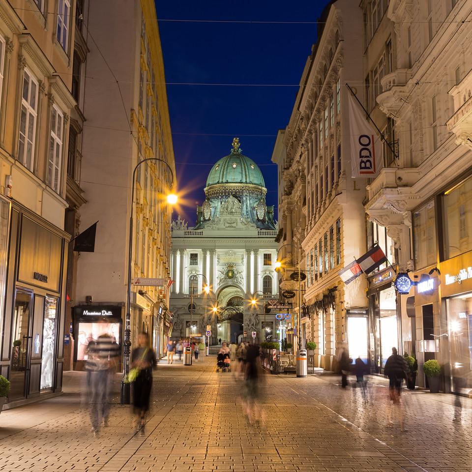 Kohlmarkt in Vienna