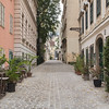 Buildings and Cobbled Streets in Vienna