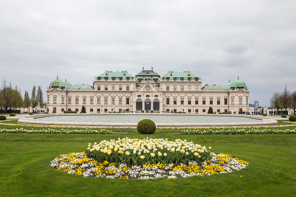 Belvedere in the Spring