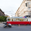 Old Tram in Vienna